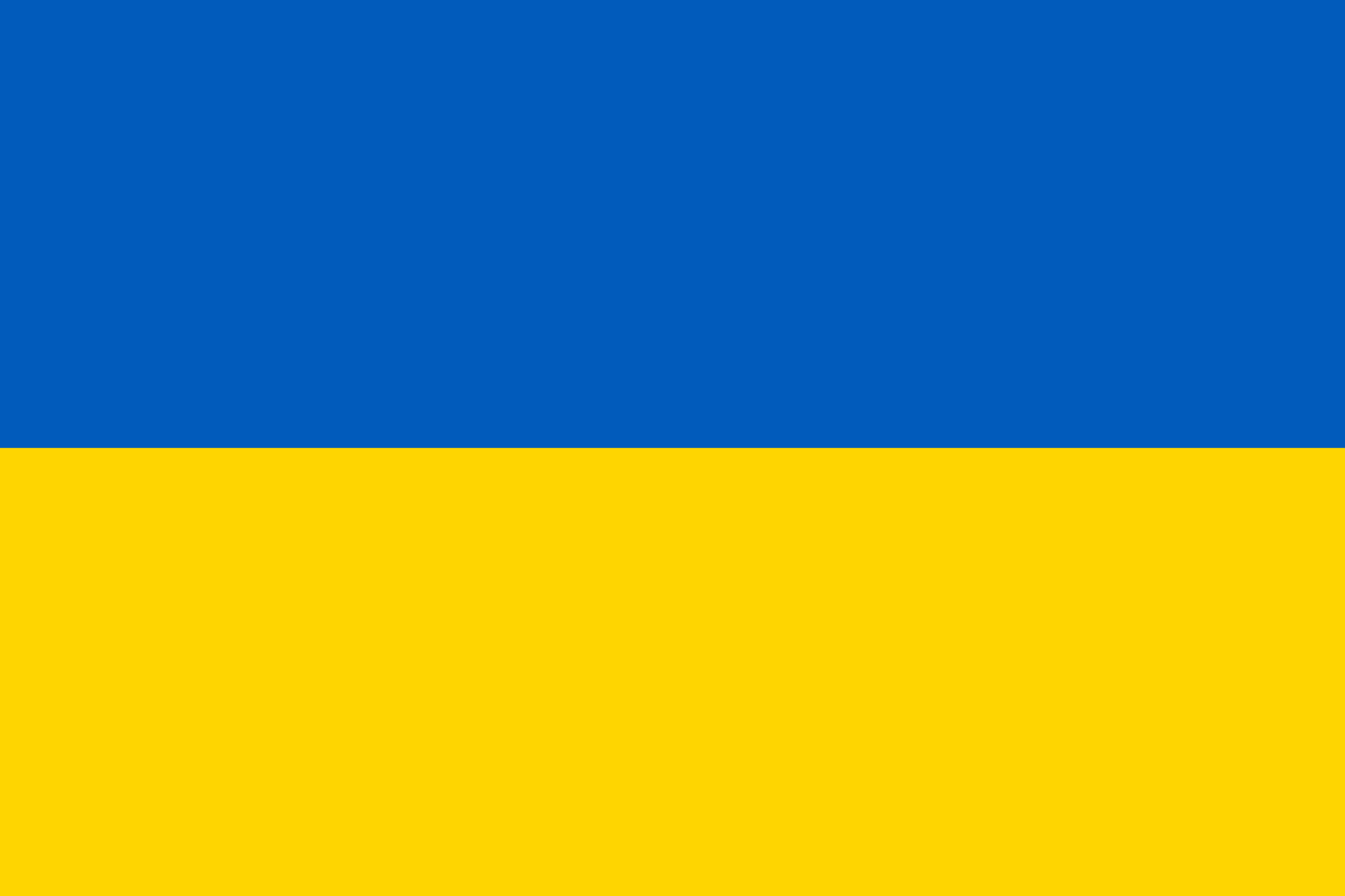 Ukrainska flaggan.