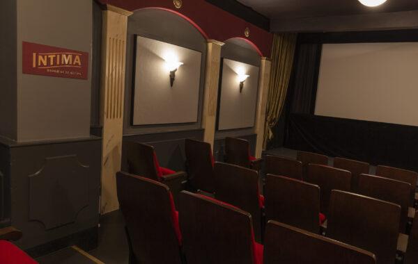 En liten biografsalong.